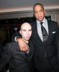 Na foto com Jay-Z está Pain In Da Ass, rapper que imitava Tony e ficou famoso por fazer isso em muitas tracks do Jiggaman