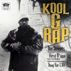 Capa do único single de Kool G Rap para The Giancana Story lançado pela Rawkus