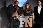 Kanye West na premiação do FN Achievement Awards (2015)