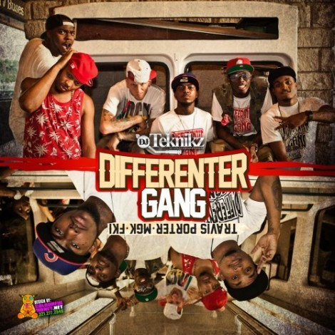 2010 - Differenter Gang (Travis Porter, MGK & FKi) (Mixtape)