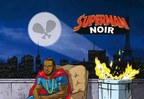 França - Ol Kainry - Superman Noir