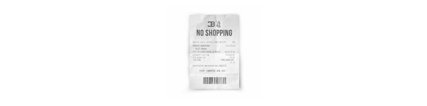 no shopping drake french